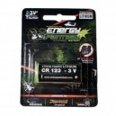 PILE ENERGY PAINTBALL LITHIUM 3V CR 123