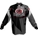 JERSEY G.I. SPORTZ CHARGER PADDED PRO GRIS/NOIR