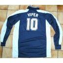 LOT 10 JERSEYS VIPER BLEU/BLANC XL OCCASION/NEUF