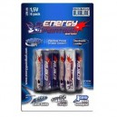 PILES ENERGY PAINTBALL ALKALINE 1,5V AA (X6)