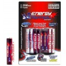 ACCU. ENERGY PAINTBALL 1.5V LR6 AA NIMH 2550 mAh (X6)