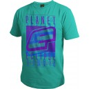 T-SHIRT PLANET ECLIPSE FADE TEAL