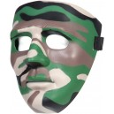 MASQUE DE VISAGE RIGIDE SPECIAL FORCE WOODLAND