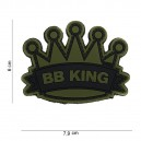 PATCH PVC 3D VELCRO 101 INC BB KING VERT