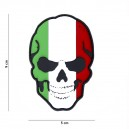 PATCH PVC 3D VELCRO 101 INC SKULL ITALIE