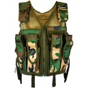 VESTE TACTIQUE FIELD BATTLE WOODLAND
