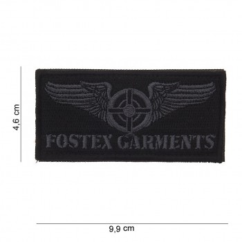 PATCH TISSU VELCRO FOSTEX GARMENTS WINGS GRIS