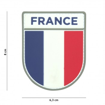 PATCH PVC 3D VELCRO 101 INC FRENCH ARMY
