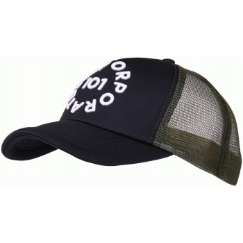 CASQUETTE 101 INCORPORATED MESH NOIR/OLIVE