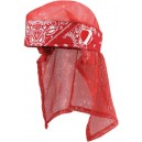 HEADWRAP DYE BANDANA RED